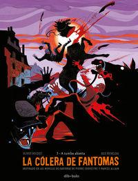 La cólera de Fantomas 3: portada