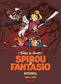 Spirou y Fantasio Integral 14: portada