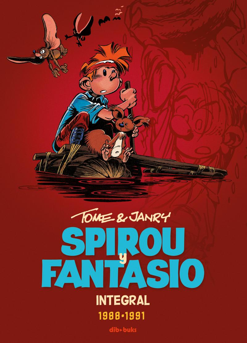 Spirou y Fantasio Integral 15: portada