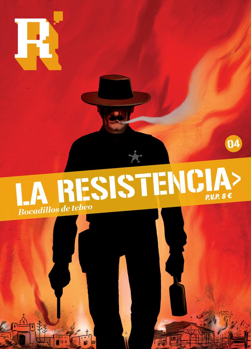 La Resistencia 4: portada