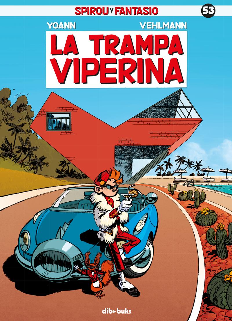 Spirou y Fantasio 53: portada