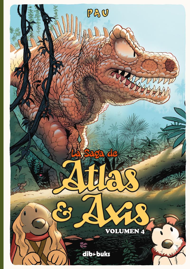 La saga de Atlas y Axis 4: portada