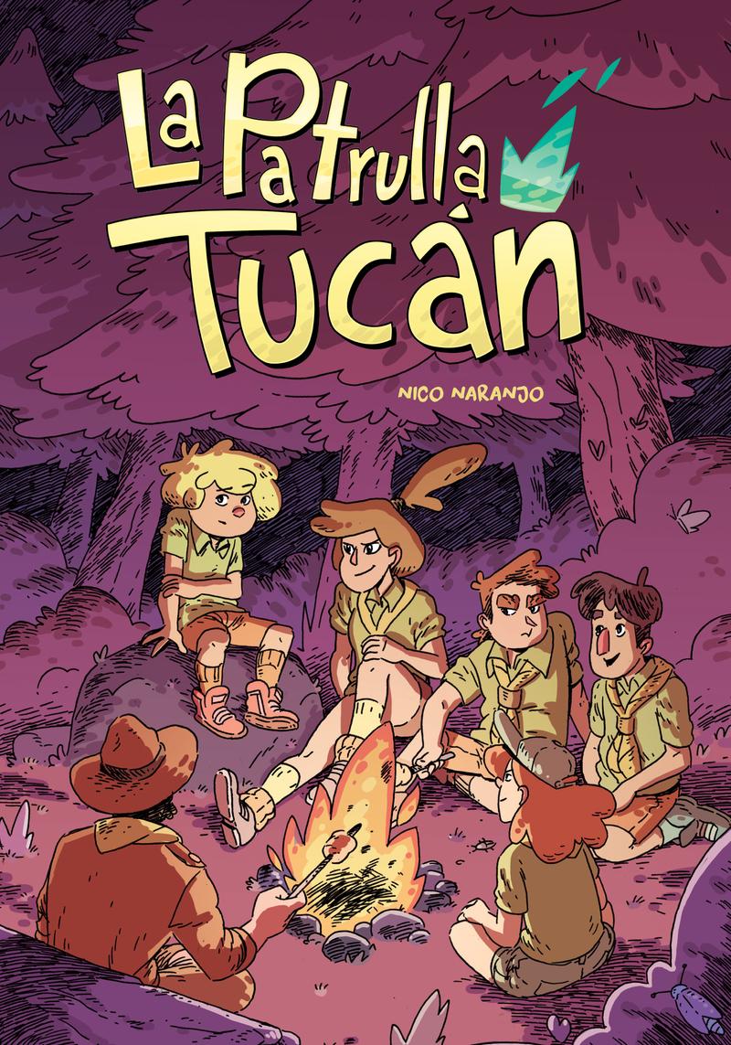 La Patrulla Tucán: portada