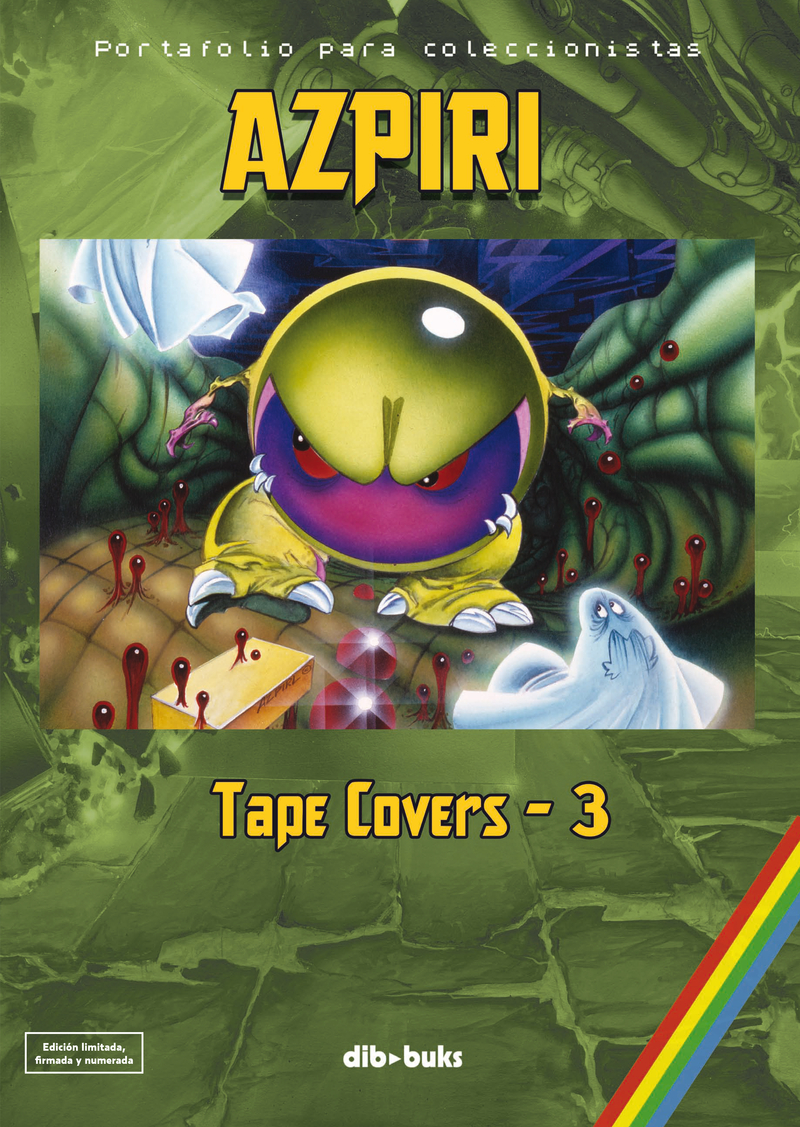 PORTAFOLIO AZPIRI - TAPE COVERS 3: portada