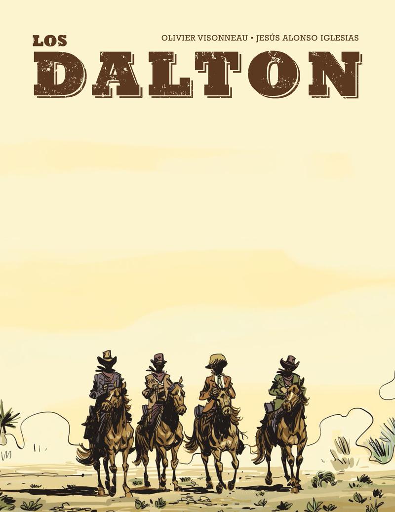 Los Dalton: portada