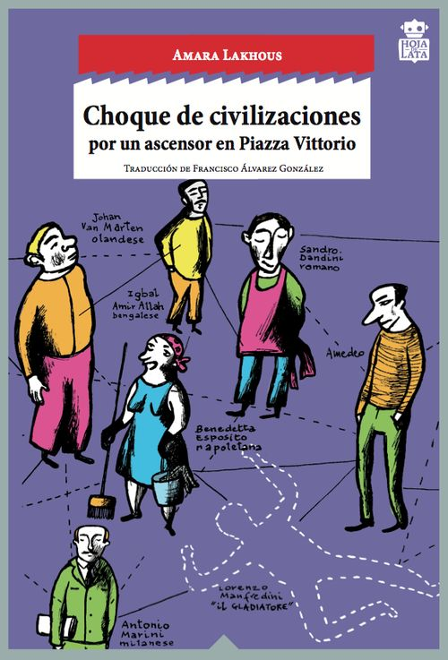 Choque de civilizaciones por un ascensor en Piazza Vittorio: portada