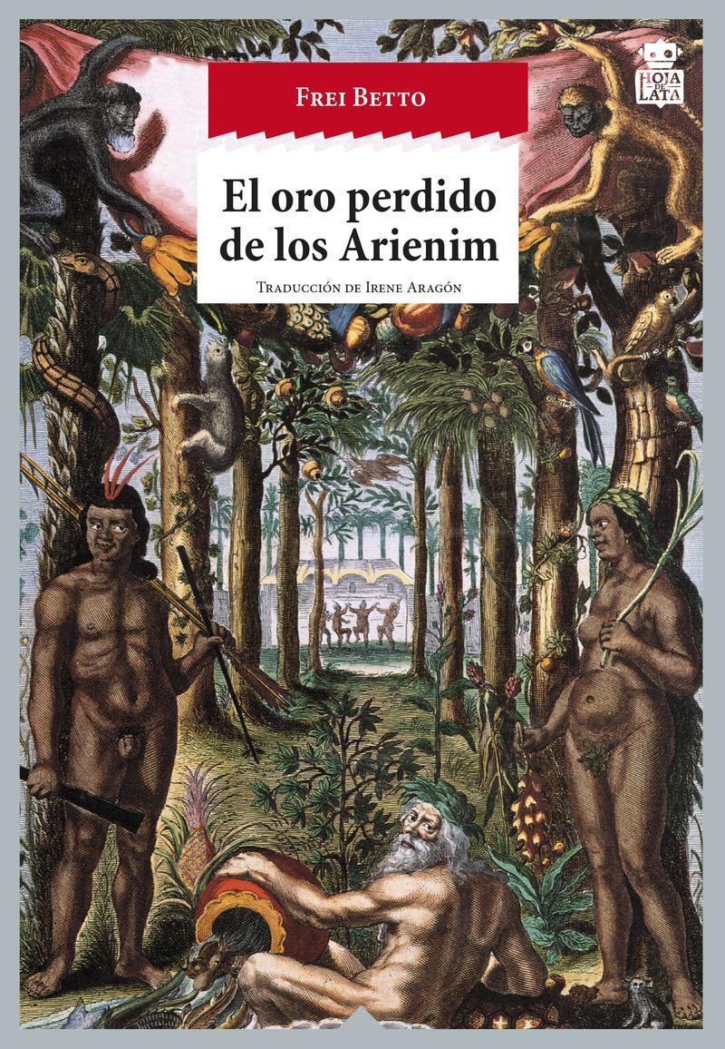 El oro perdido de los Arienim: portada