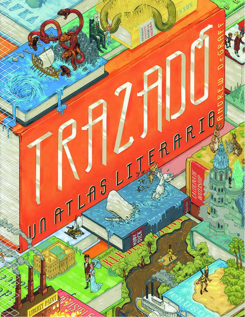 Trazado. Un atlas literario: portada