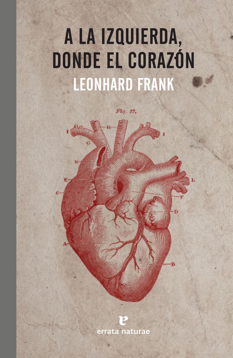 A la izquierda, donde el corazón: portada