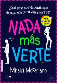 NADA M�S VERTE (NE): portada