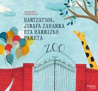 Hartzatxoa, jirafa zaharra eta harrizko pareta: portada