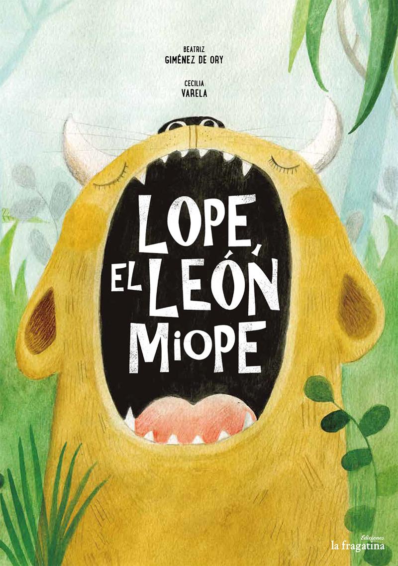 Lope, el león miope: portada
