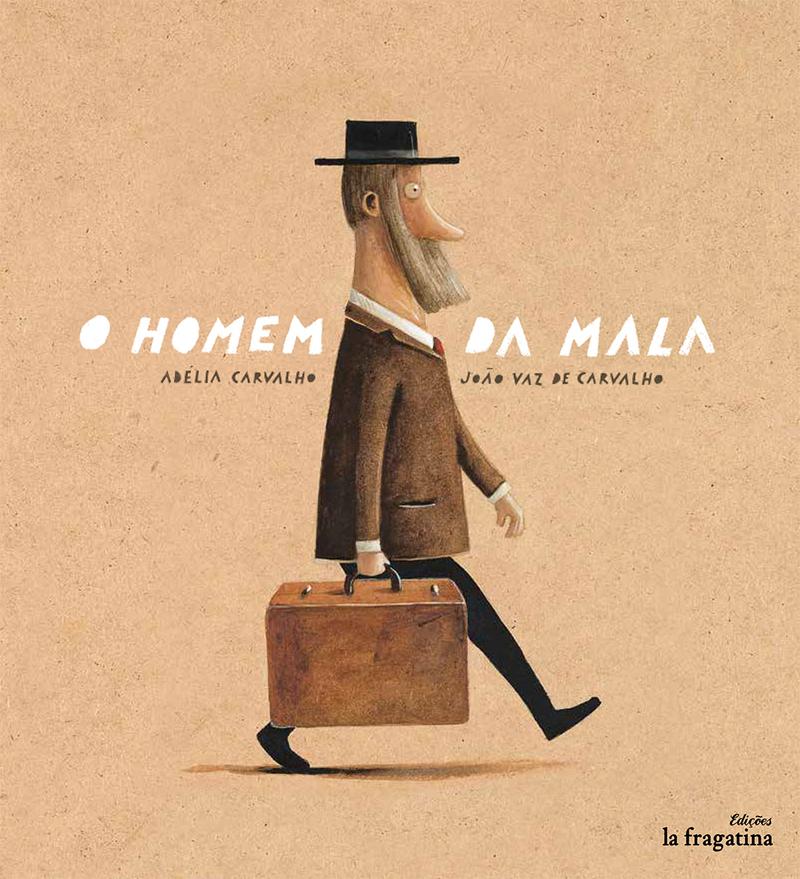 O homem da mala: portada