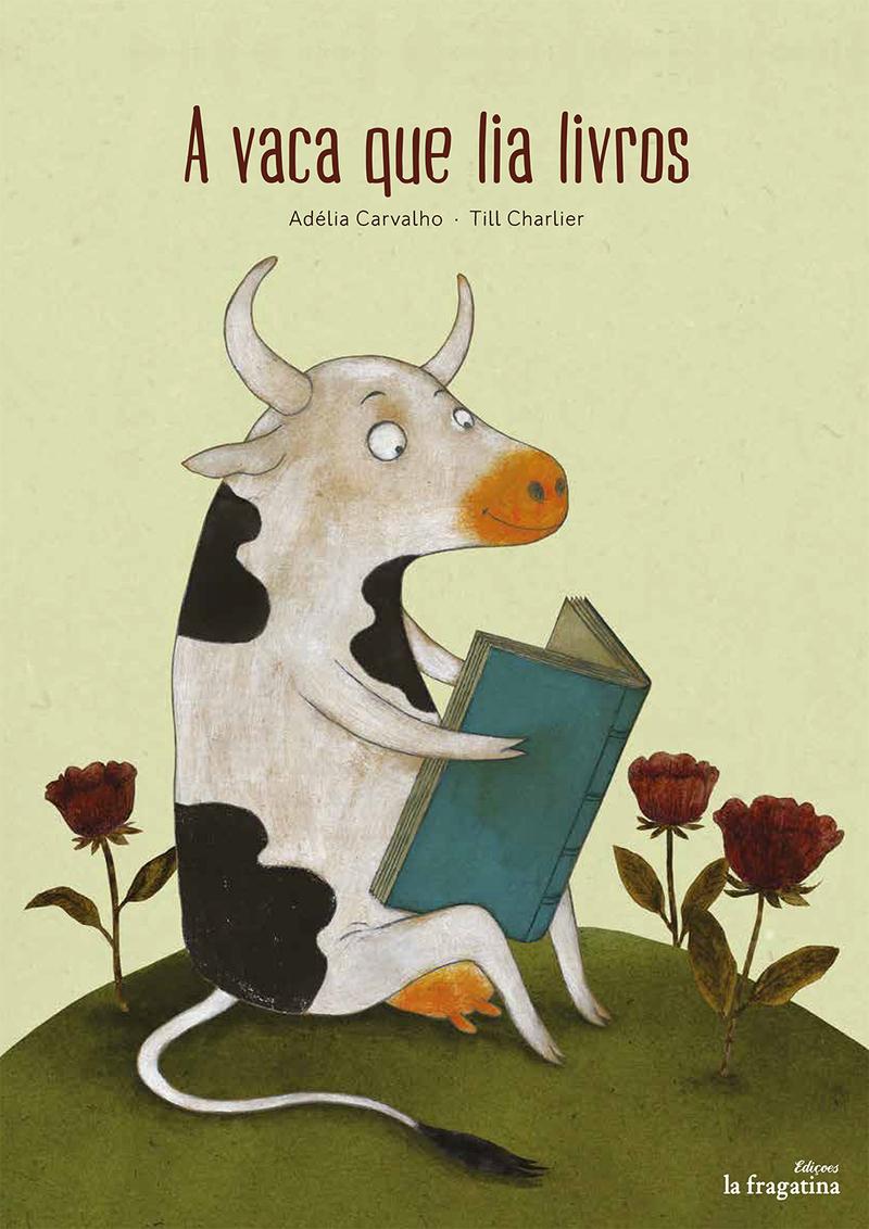 A vaca que lia livros: portada