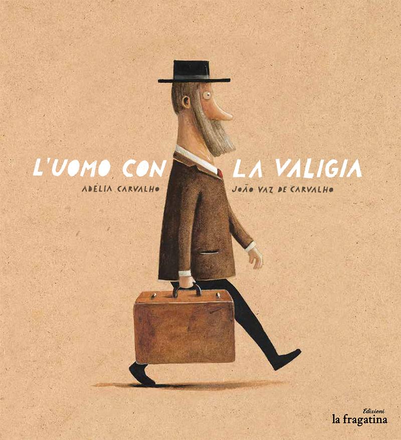 L'uomo con la valigia: portada