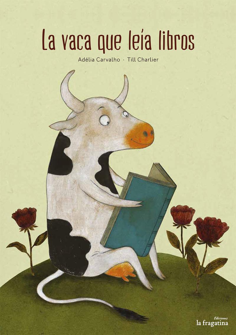 La vaca que leía libros: portada