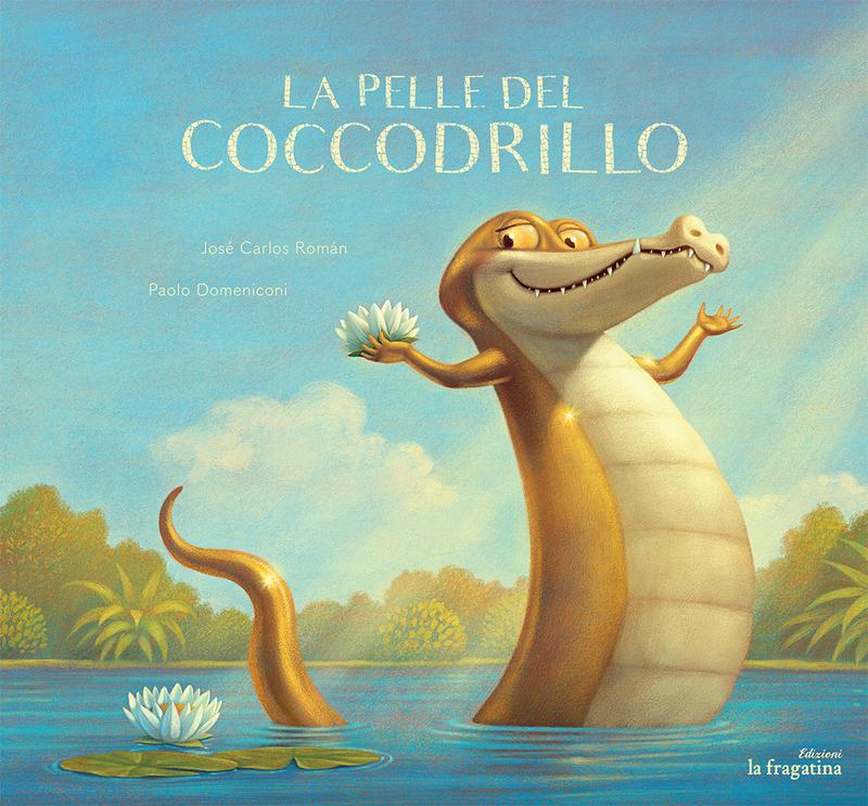 La pelle del coccodrillo (Italiano): portada