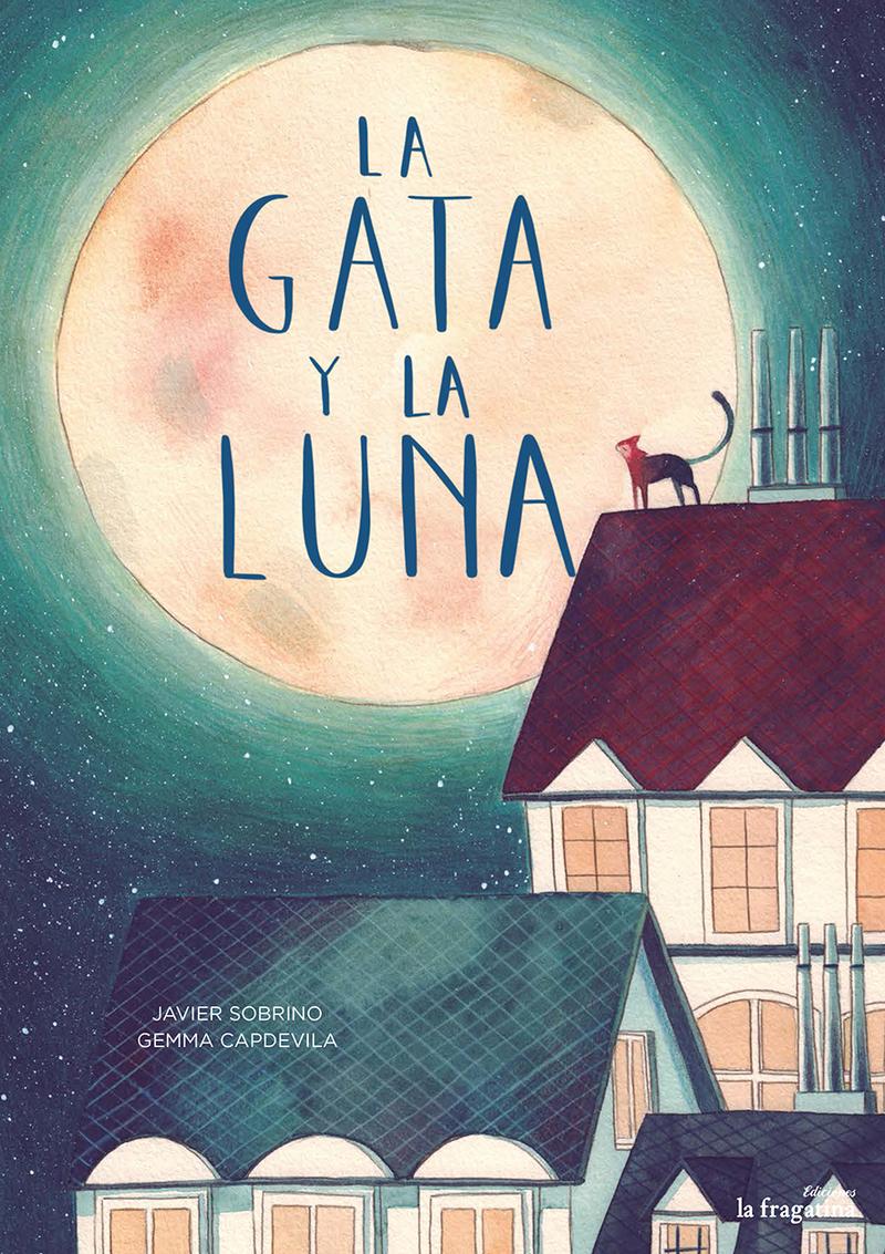 La gata y la Luna: portada