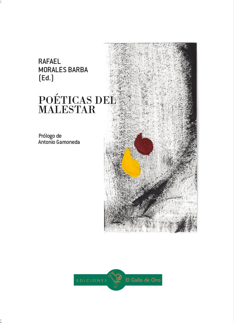 POÉTICAS DEL MALESTAR: portada