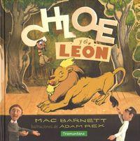 CHLOE Y EL LEÓN: portada