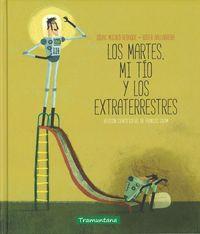 LOS MARTES, MI TÍO Y LOS EXTRATERRESTRES: portada