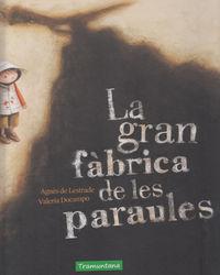 LA GRAN FABRICA DE LES PARAULES - CAT: portada