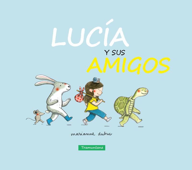 LUCÍA Y SUS AMIGOS: portada