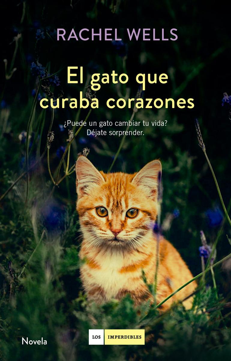 El gato que curaba corazones: portada