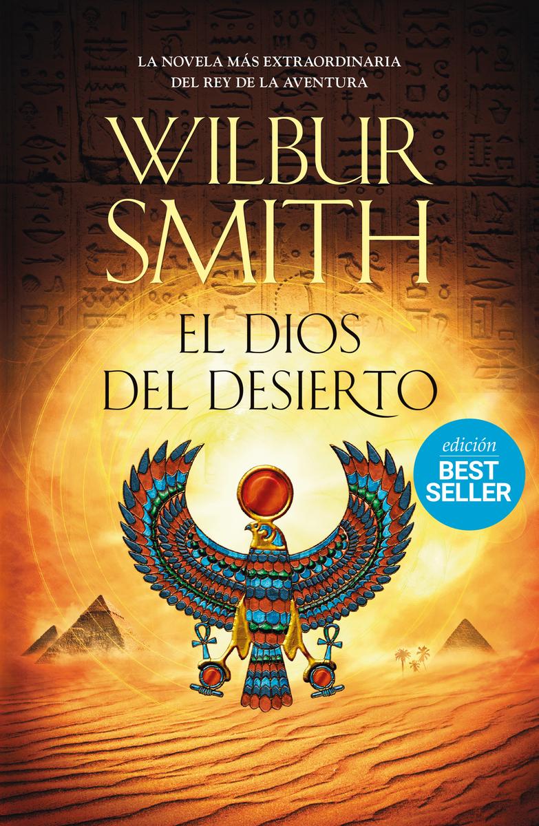 El dios del desierto: portada