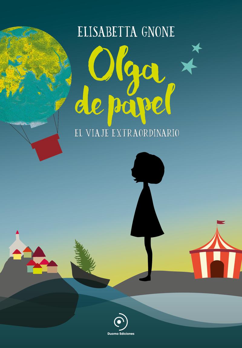 Olga de papel. El viaje extraordinario: portada