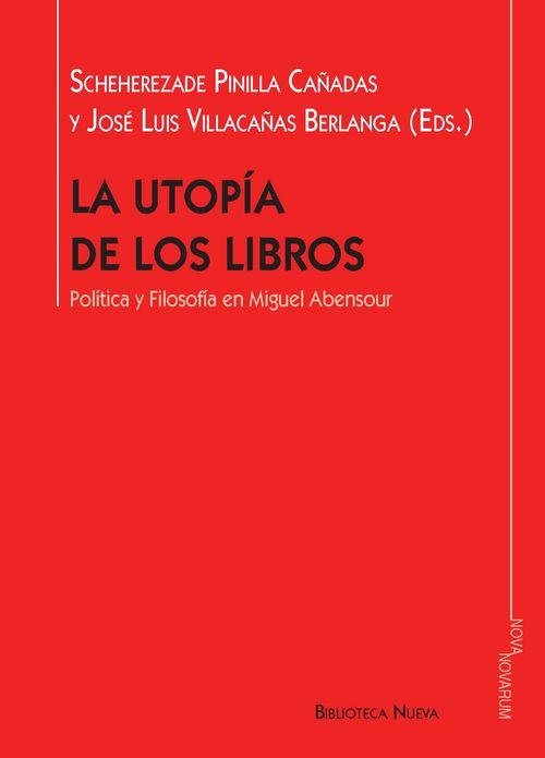 LA UTOPÍA DE LOS LIBROS: portada
