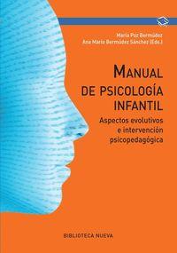 MANUAL DE PSICOLOGÍA INFANTIL: portada
