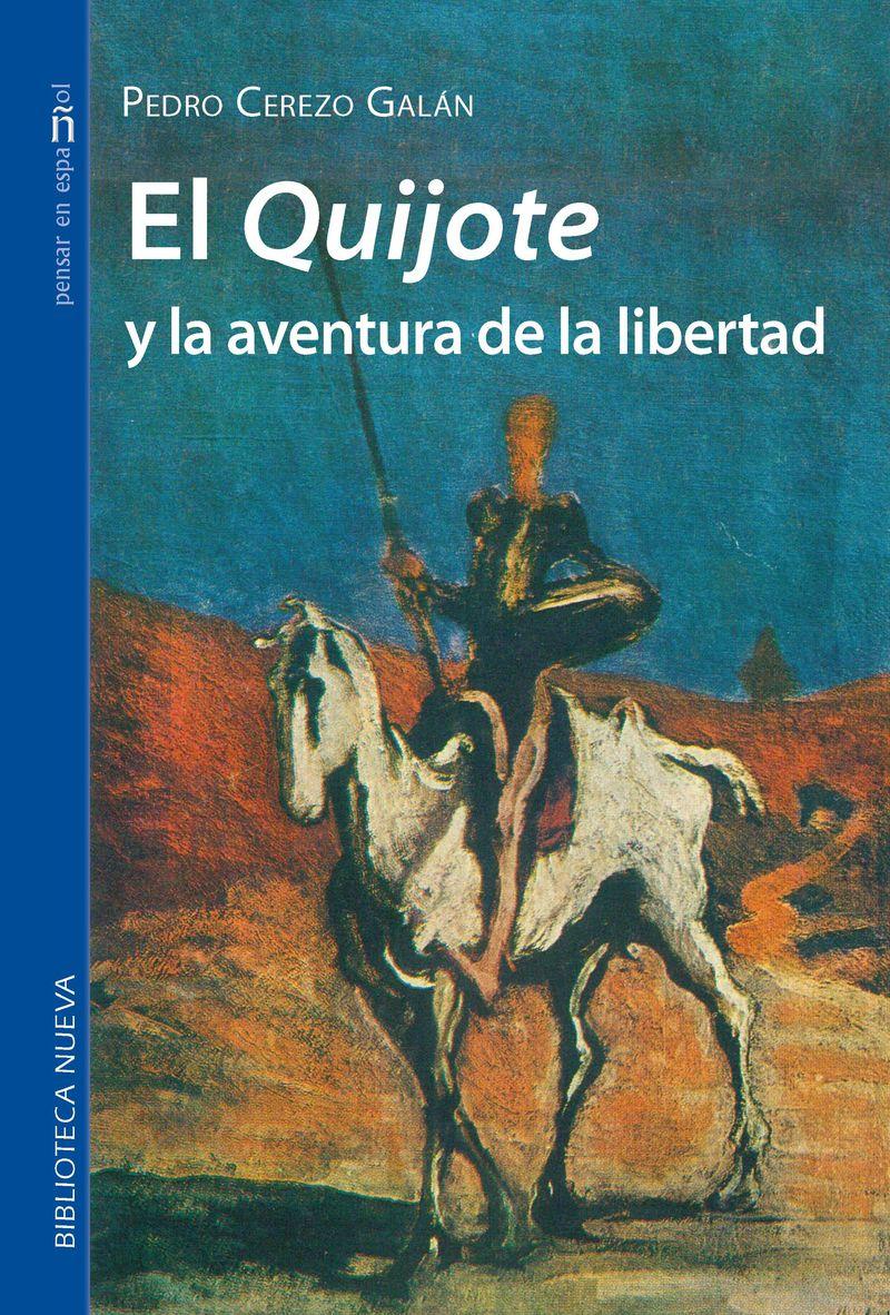 EL QUIJOTE Y LA AVENTURA DE LA LIBERTAD: portada