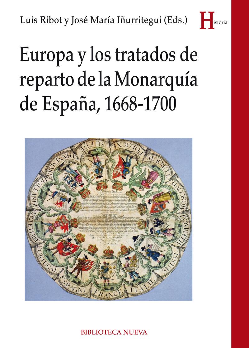 EUROPA  Y LOS TRATADOS DE REPARTO DE LA MONARQUÍA DE ESPAÑA: portada