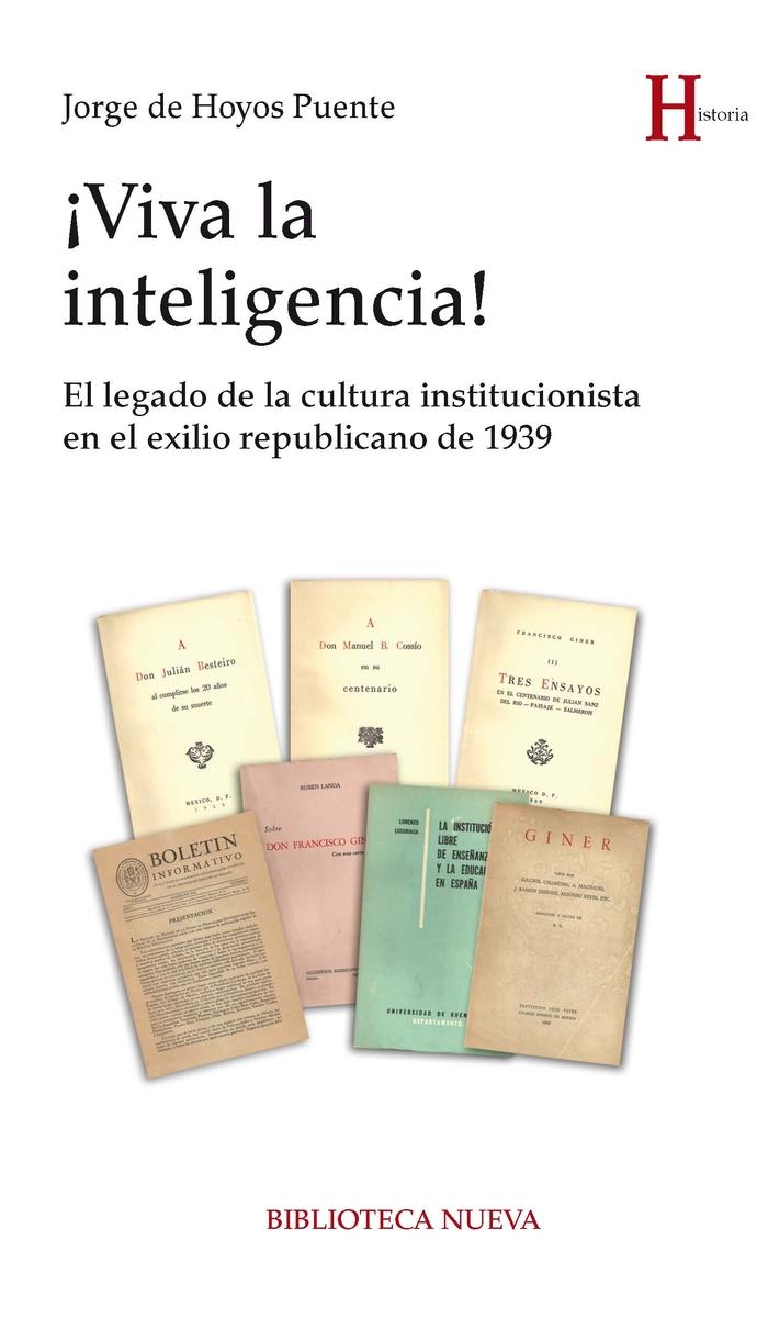 �VIVA LA INTELIGENCIA!: portada