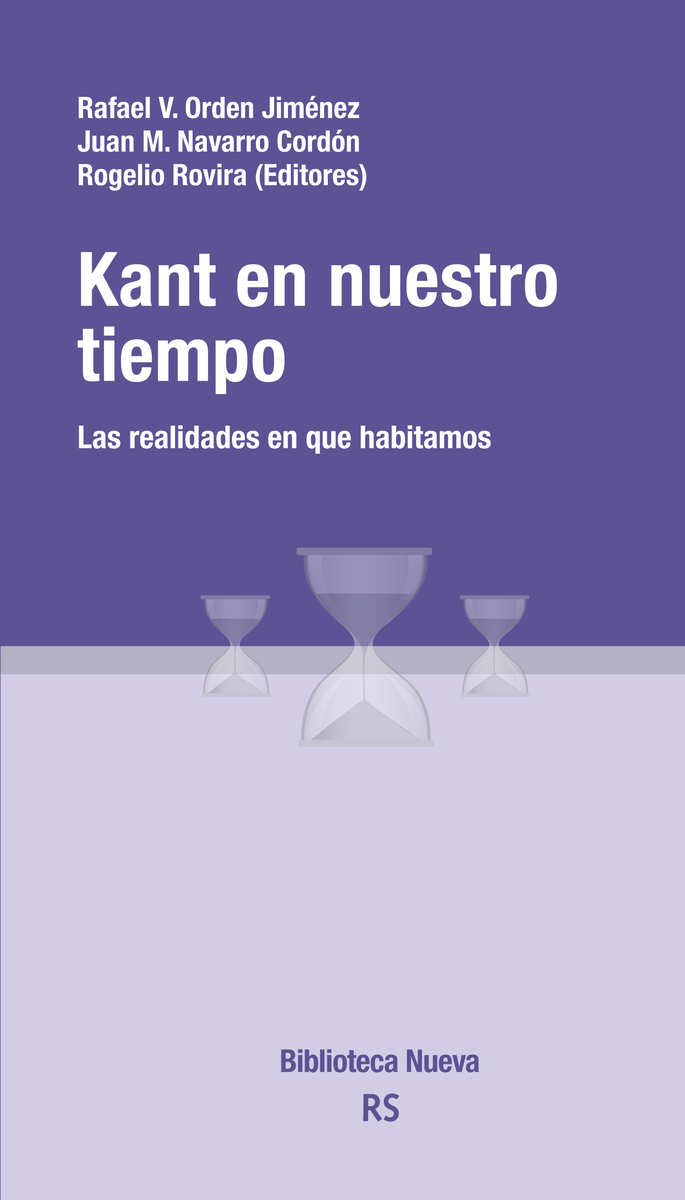 KANT EN NUESTRO TIEMPO: portada