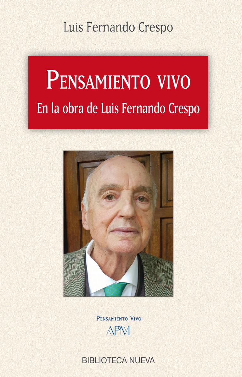 PENSAMIENTO VIVO EN LA OBRA DE LUIS FERNANDO CRESPO: portada