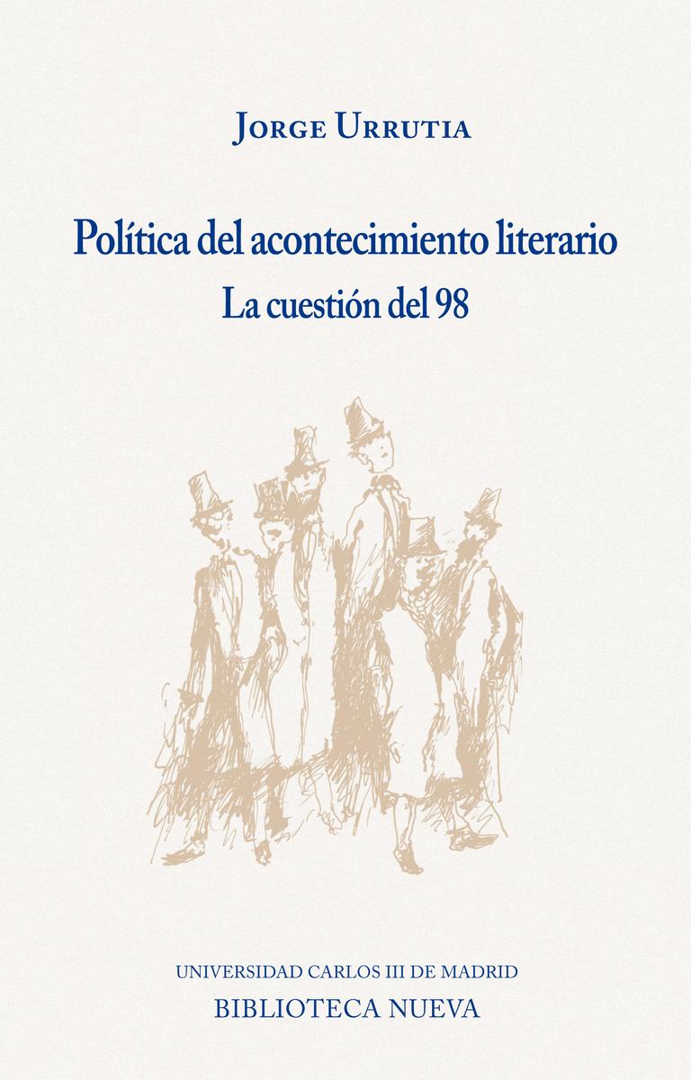 POLÍTICA DEL ACONTECIMIENTO LITERARIO: portada