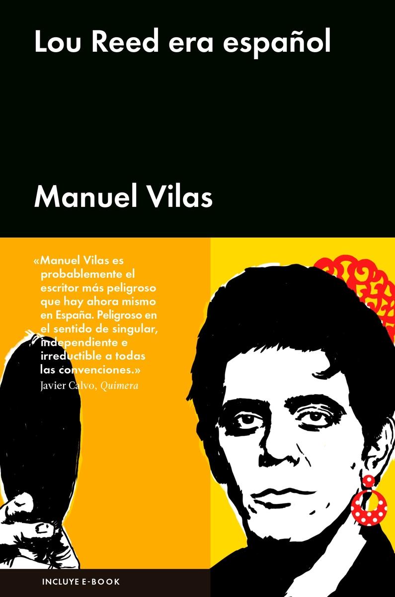 Lou Reed era español: portada