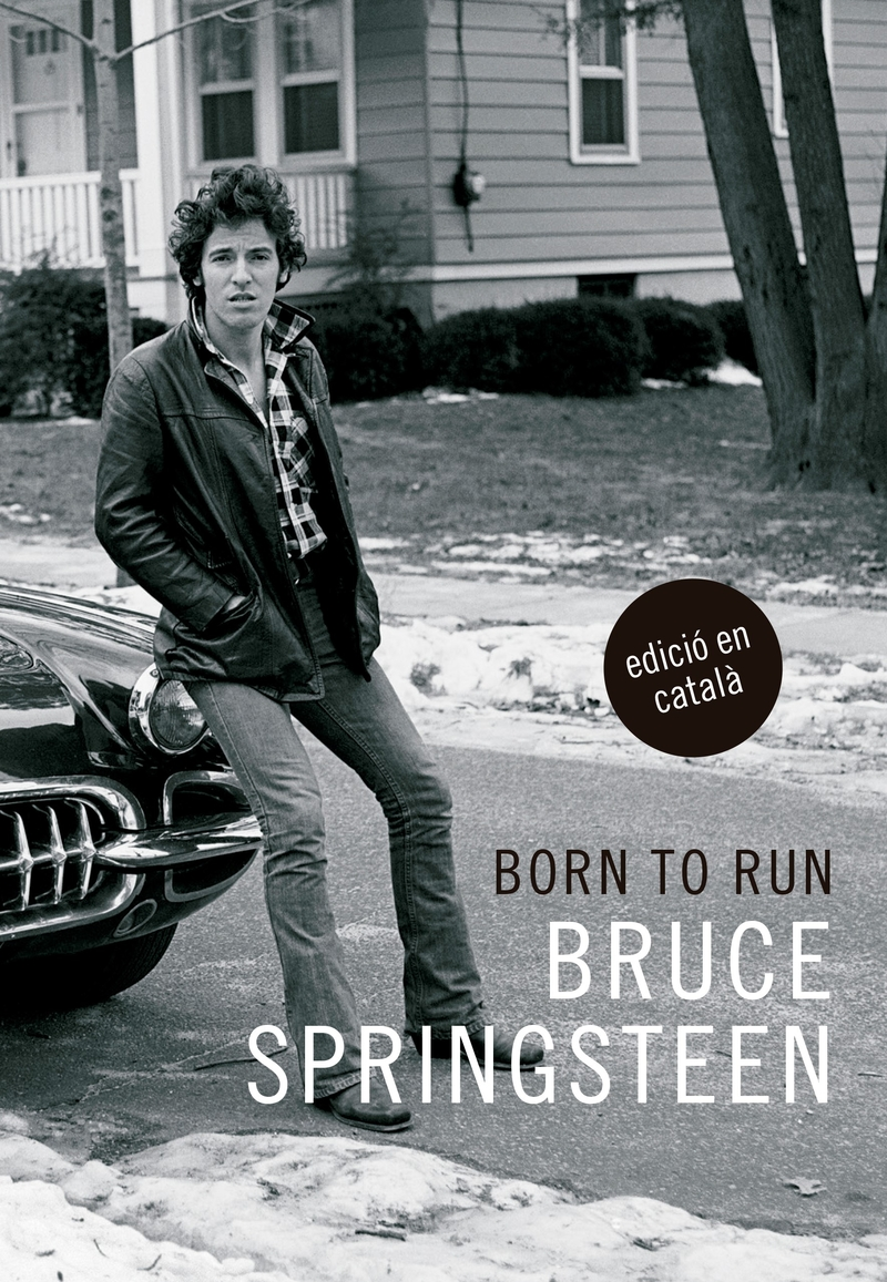 Born to run (cat): portada