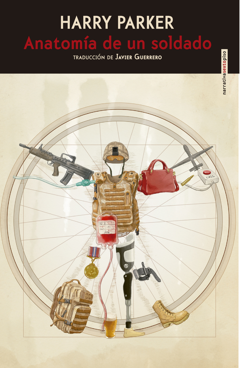 Anatomía de un soldado: portada