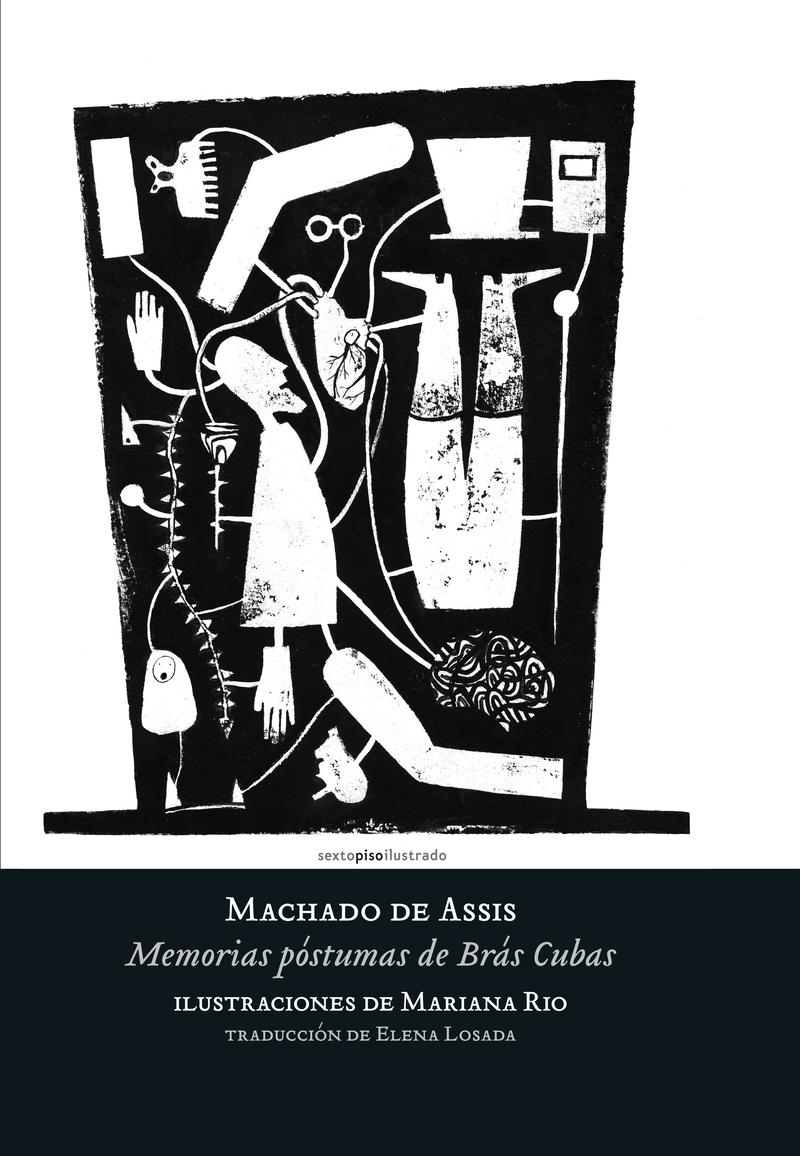 Memorias póstumas de Brás Cubas: portada