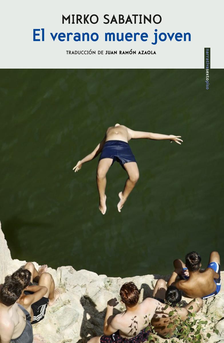 El verano muere joven: portada