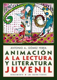 Animación a la lectura y literatura juvenil: portada