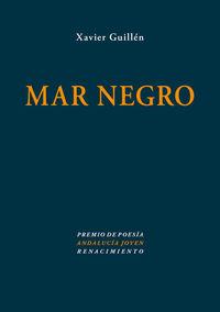 Mar negro: portada