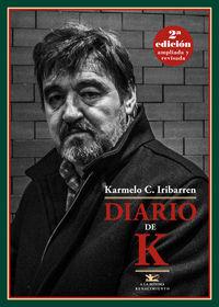 Diario de K. 2ª edición ampliada: portada