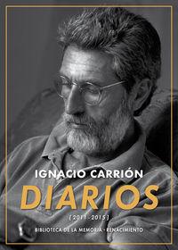 Diarios (2011-2015): portada