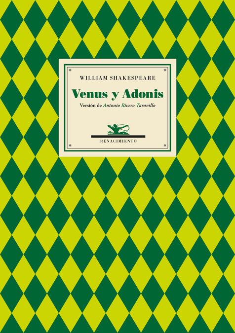 Venus y Adonis: portada