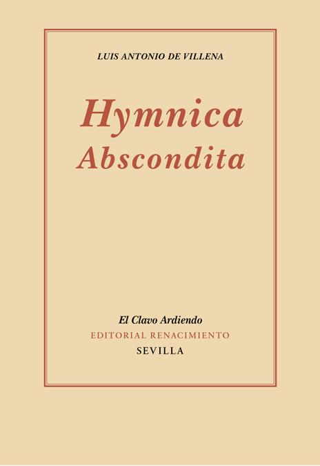 HYMNICA ABSCONDITA: portada