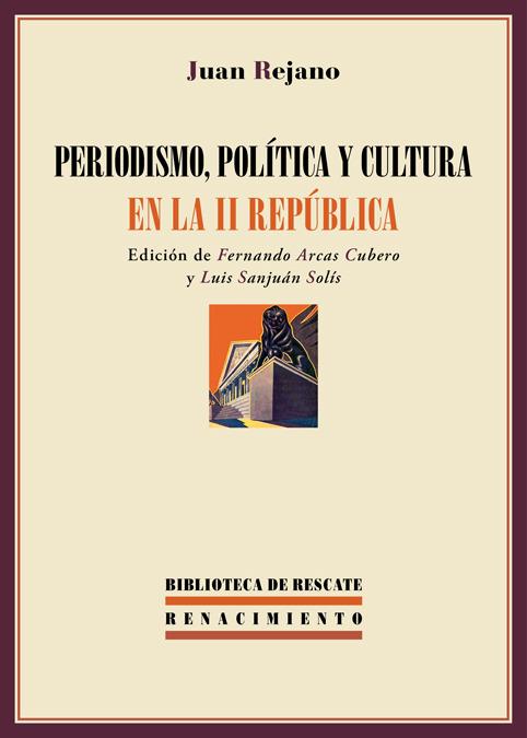 Periodismo, política y cultura en la II República: portada